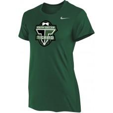 Southside SC 32: Nike Women's Legend Short-Sleeve Training Top - Tigard Green