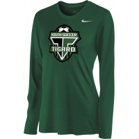 Southside SC 35: Nike Women's Legend Long-Sleeve Training Top - Tigard Green