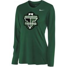 Southside SC 35: Nike Women's Legend Long-Sleeve Training Top - Tigard Green