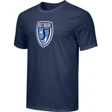 Southside SC 17: Youth-Size - Nike Combed Cotton Core Crew T-Shirt - Southside Navy