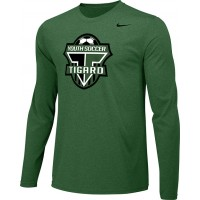 Southside SC 33: Adult-Size - Nike Team Legend Long-Sleeve Crew T-Shirt - Tigard Green