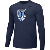 Southside SC 13: Adult-Size - Nike Team Legend Long-Sleeve Crew T-Shirt - Southside Navy